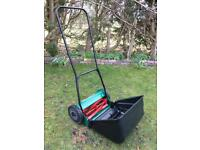 Qualcast Panther 380 Lawnmower Hand Push With Box As New