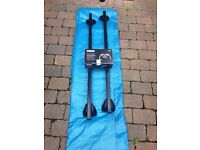 Thule SquareBar 761 and 753 Rapid System Foot Pack