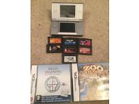 Silver Ds Lite Nintendo and games