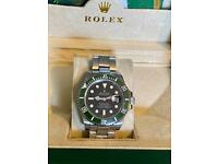 Mens watch and box papers also £120