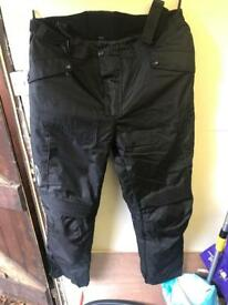 Richa Motorcycle Trousers with attachable jacket zip 6xl