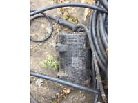 Water pump - waterfall / pond, incl cables