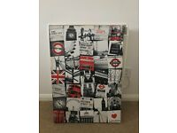 London Canvas - Picture - Wall Art