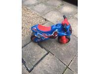 Spider-Man ride on