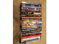 DVDs and pc games