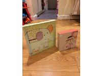 Mamas and Papas Nursery wall pictures - set of two