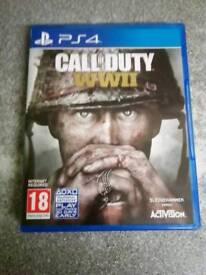 Call of Duty WW2. PS4.