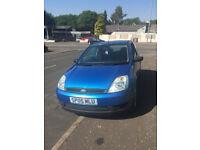 "Ford Fiesta 1.2 finesse .2005 ""05"" blue metallic ,rds cd stereo ,alloy wheels , mot nov 2018"