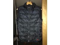 Gucci bodywarmer GG overall print navy blue