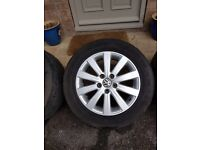 VW Alloy Wheels 18 inch