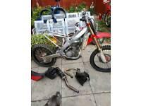 Honda crf 250 spares or repair
