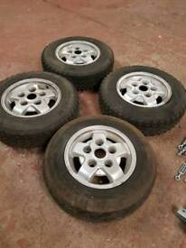 Land Rover Defender Discovery  Alloys And Tyres