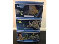 Toy story storage drawers