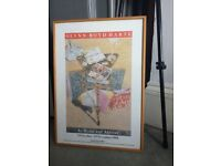 Picture - framed print/poster painting