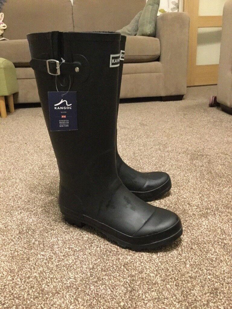 Kangol Ladies Wellington Boots (size 6) *NEW*