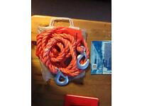 Tow Rope with hooks
