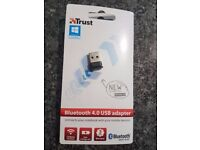 Trust Bluetooth 4.0 USB Dongle for PC, Laptop - Black