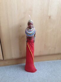 """Soul Journeys """"Maasai"""" Limited Edition figurine """"Full of Song"""""""