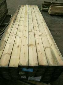 "5 x 1 1/2"" Sawn Timber 3.9mtr Lengths"