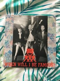"Bros When Will I Be Famous? 7"" vinyl from 1987"