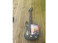 PlayStation 2 guitar with guitar heroes legends of rock game
