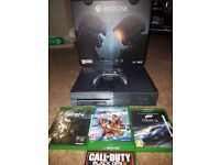 XBOX ONE 1TB Halo 5 CONSOLE [LIMITED EDITION] plus games
