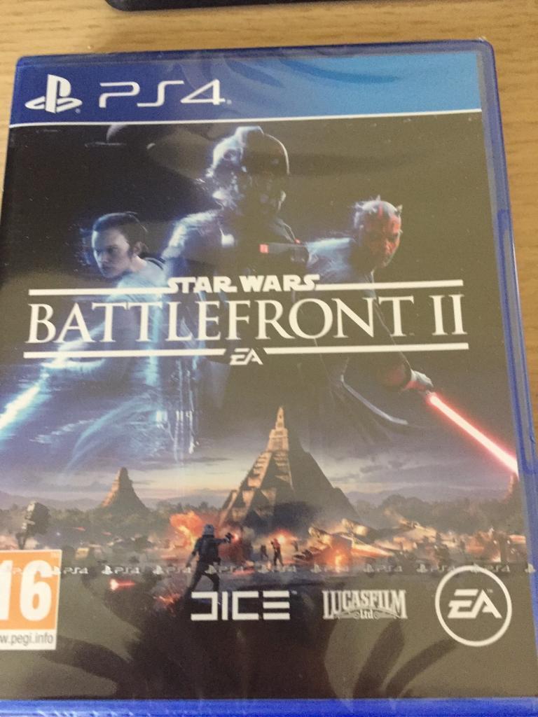 Battlefront 2- Brand new unopened