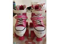 Girls Trainer style roller skates
