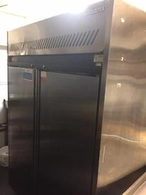 Williams 2 door stainless steel fridge