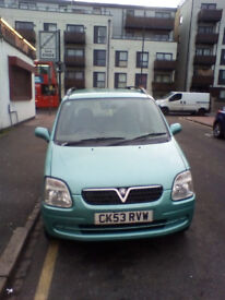 Vauxall Agila spares or repairs