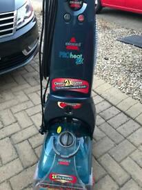 SOLD - Carpet and Upholstery Cleaner - BISSELL 9200E Proheat 2x Upright - Illustrious Blue