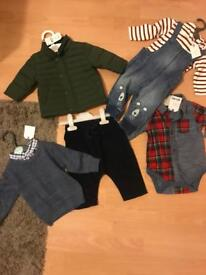 Baby boy Next brand new clothes bundle 3-6 months