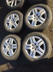 "15"" VW Golf Mk4 GT TDI Alloys 5x100"