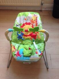 Baby bouncy chair fisher price.