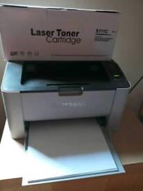 Samsung Xpress M2026 Laser Printer and Brand New Cartridge