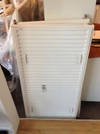 3 x white radiators 600 x 1200