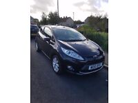 FORD FIESTA BLACK 2010 FOR SALE