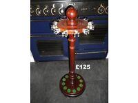 ***** BARGAIN - Antique Victorian/Edwardian Vintage Cue Rack Snooker Billiards Pool only £125 *****