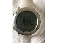 SUUNTO CORE ALU PURE WHITE THE OUTDOOR WATCH WITH ALTIMETER, BAROMETER & COMPASS - NEW