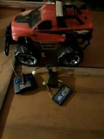 Tyco rc 9.6v turbo nicd street beast remote control car