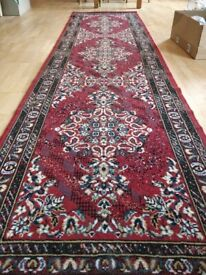 Persian Style Runner Rug (red)