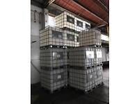 1000L IBC cubes. Non-food grade