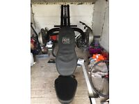 Multi gym Marcy pro with barbell & 180kg plate weights