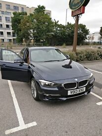 BMW 3 Series 2.0 320d Luxury 4dr (start/stop) - Heated seats, reverse cam, upgraded sound system