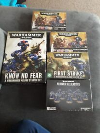 Warhammer 40,000 bundle brand new in boxes
