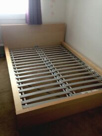 IKEA MALMO DOUBLE BED FRAME