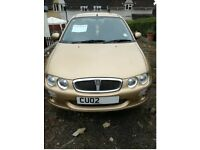 02 plate Rover 25 1.4 petrol in good condition.