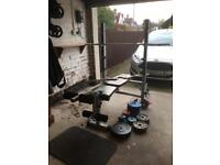 York Fitness B540 2 in 1 Weights Bench