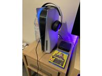 Ps5 Playstation 5 + Pulse Headset