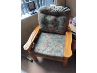 Conservatory sofa - two seater (same style as this chair)